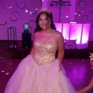 Quincenera or sweet 16 dress